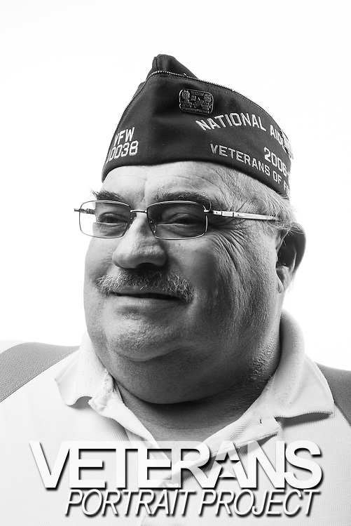 Donald R. Young Jr. <br /> Marine Corps<br /> E-3<br /> Infantry<br /> 1967-1969<br /> Vietnam<br /> <br /> Veterans Portrait Project<br /> Louisville, KY<br /> VFW Convention <br /> (Photos by Stacy L. Pearsall)