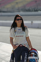 Danica Patrick at the California Speedway, Toyota Indy 400, October 16, 2005
