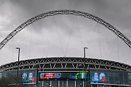 Wembley Stadium before the Johnstone's Paint Trophy Final match at Wembley Stadium, London<br /> Picture by David Horn/Focus Images Ltd +44 7545 970036<br /> 30/03/2014