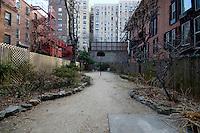Backyard at 33 West 93rd Street