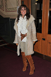 CAROL VORDERMAN at the opening night of Totem by Cirque du Soleil held at The Royal Albert Hall, London on 5th January 2011.