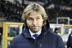 December 15, 2018 - Turin, Piedmont, Italy - Pavel Nedved, Vice President of Juventus FC, before the Serie A football match between Torino FC and Juventus FC at Olympic Grande Torino Stadium on December 15, 2018 in Turin, Italy. Torino lost 0-1 against Juventus. (Credit Image: © Massimiliano Ferraro/NurPhoto via ZUMA Press)