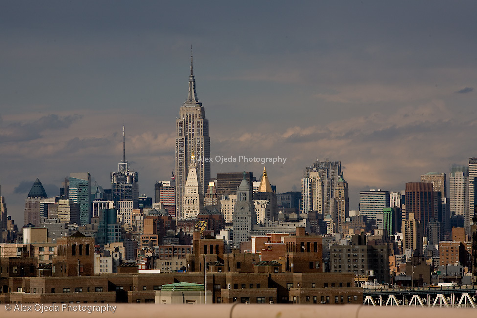 View of Manhattan with the Empire States Building, New York