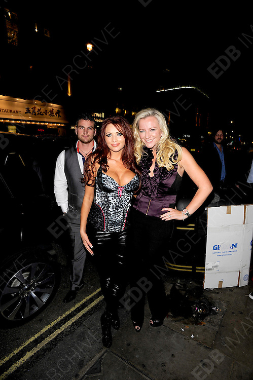 09.NOVEMBER.2011. LONDON<br /> <br /> AMY CHILDS, MICHELLE MONE OBE<br /> ATTEND LAUNCH PARTY FOR NEW LINGERIE LABEL, BRA QUEEN, BY THE CREATOR OF ULTIMO, MONE OBE, AVAILABLE AT TESCO.<br /> <br /> BYLINE: EDBIMAGEARCHIVE.COM<br /> <br /> *THIS IMAGE IS STRICTLY FOR UK NEWSPAPERS AND MAGAZINES ONLY*<br /> *FOR WORLD WIDE SALES AND WEB USE PLEASE CONTACT EDBIMAGEARCHIVE - 0208 954 5968*