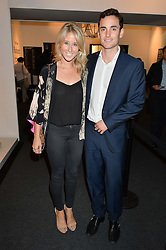 FAWN JAMES Soho Property owner and her husband NICHOLAS LAWSON at the PAD London 10th Anniversary Collector's Preview, Berkeley Square, London on 3rd October 2016.