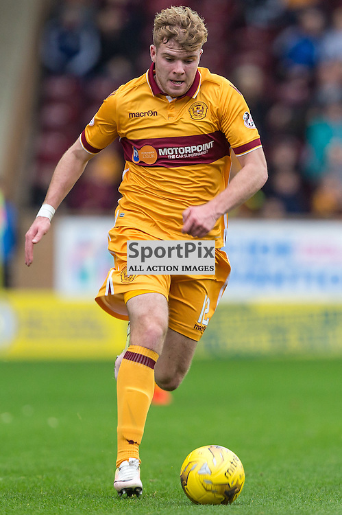 Chris Cadden in action during the match between Motherwell and Ross County (c) ROSS EAGLESHAM   Sportpix.co.uk
