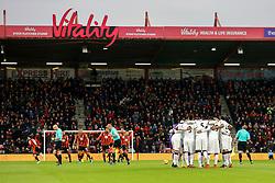 Watford team talk priorate kick off - Mandatory by-line: Jason Brown/JMP - 21/01/2017 - FOOTBALL - Vitality Stadium - Bournemouth, England - Bournemouth v Watford - Premier League