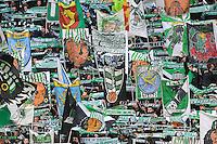 AMBIANCE SUPPORTERS - 22.03.2015 - Saint Etienne / Lille - 30eme journee de Ligue 1 <br />Photo : Jean Paul Thomas / Icon Sport