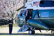 January 27, 2017 - Washington, DC, United States - <br /> <br /> President Trump Returns To The White House<br /> <br /> US President Donald Trump walks from Marine One to the White House on January 26, 2017 in Washington, DC. <br /> ©Exclusivepix Media