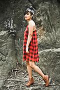 """Photo shoot with Tanzina """"Zina"""" Khatun in Central Park.  Model Mayhem #3803615 [theofficialzina]."""