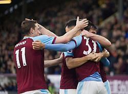 Dwight McNeil of Burnley celebrates after scoring his sides second goal - Mandatory by-line: Jack Phillips/JMP - 30/12/2018 - FOOTBALL - Turf Moor - Burnley, England - Burnley v West Ham United - {event}