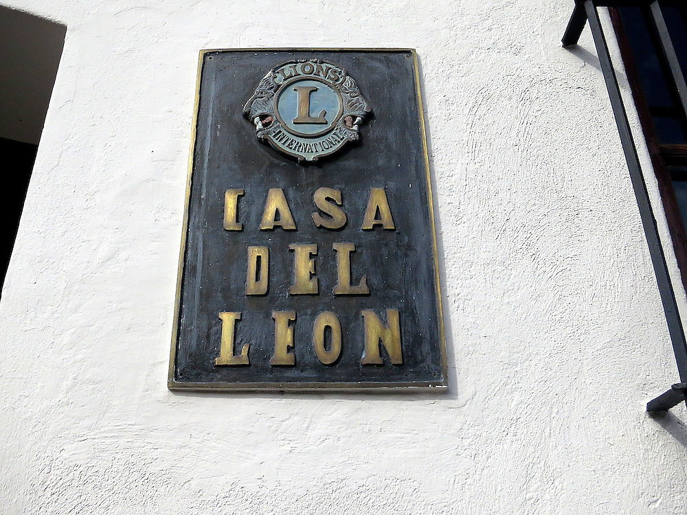 The Lions' building, Zona Colonial, Santo Domingo, Dominican Republic