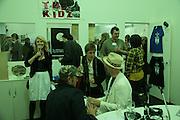 RESONANCE STAND,  Opening of the Frieze Art Fair. Regents Park. London. 10 October 2007. -DO NOT ARCHIVE-© Copyright Photograph by Dafydd Jones. 248 Clapham Rd. London SW9 0PZ. Tel 0207 820 0771. www.dafjones.com.