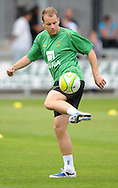 Dartford - Saturday July 11 2009: Goran Maric of Norwich City warms up prior to the friendly match at Princes Park. ..(Pic by Alex Broadway/Focus Images)..