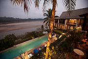 Mekong Estates rental property on the Mekong just south of Luang Prabang, Laos in Ban Saylom Village.