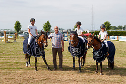 Merchtem's Got Talent, Dieu Marthe-Louise, Belle, Van Hemelrijck Louis, Jasperina, De Plecker Vic, Donita<br /> Winnaars KBC Dream Team Cup - Broechem 2017<br /> © Hippo Foto - Dirk Caremans<br /> 28/05/17