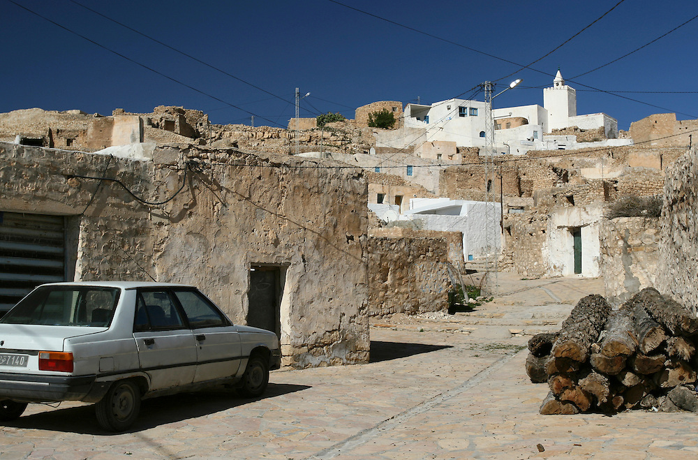 The village of Tamezret, Tunisia.