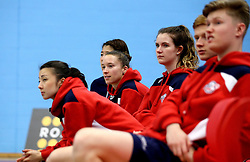 The Bristol Jets team watch the action against The Surrey Smashers unfold - Photo mandatory by-line: Robbie Stephenson/JMP - 06/02/2017 - BADMINTON - SGS Wise Arena - Bristol, England - Bristol Jets v Surrey Smashers - AJ Bell National Badminton League