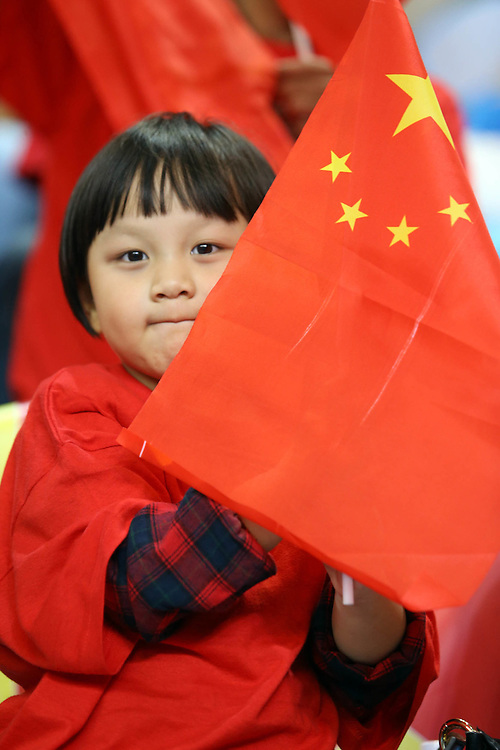 A little China fan with flag