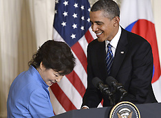 MAY 07 2013 Obama with South Korean President Press Conference