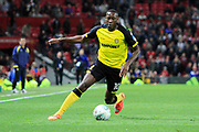 Burton Albion striker Lucas Akins (10) during the EFL Cup match between Manchester United and Burton Albion at Old Trafford, Manchester, England on 19 September 2017. Photo by Richard Holmes.