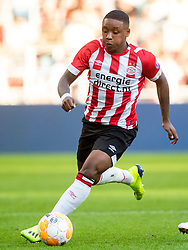 Steven Bergwijn of PSV during the Pre-season Friendly match between PSV Eindhoven and Valencia CF at the Phillips stadium on July 28, 2018 in Eindhoven, The Netherlands