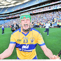 13 Septermber 2009; Clare's Sean Collins celebrates after the match. Bord Gais Energy GAA All-Ireland U21 Hurling Championship Final, Clare v Kilkenny, Croke Park, Dublin. Picture credit: Brian Lawless / SPORTSFILE
