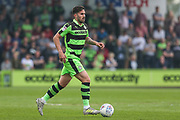 Forest Green Rovers Chris Clements(22) during the EFL Sky Bet League 2 match between Forest Green Rovers and Chesterfield at the New Lawn, Forest Green, United Kingdom on 21 April 2018. Picture by Shane Healey.