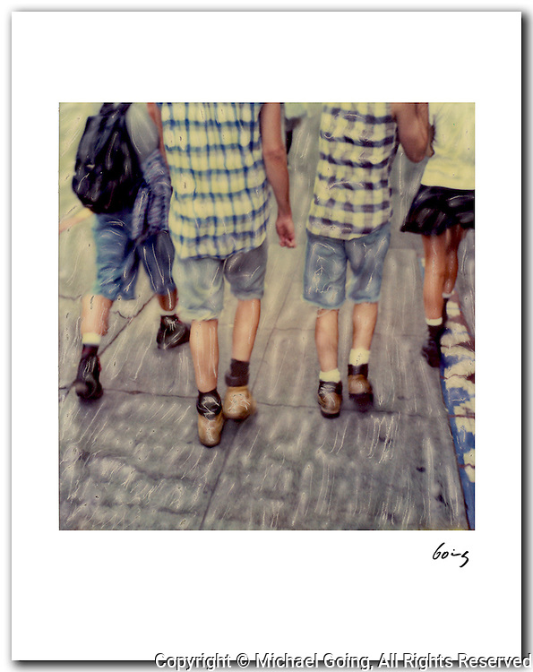 Grunge Kids, Seattle 1994. 11x14 signed archival pigment print