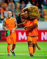 NETHERLANDS, Amsterdam Nigel de Jong reacts after the gameThe Netherlands versus Northern Irland during friendly soccer match between Netherlands vs Northern Irland in Rotterdam on June 2, 2012. AFP PHOTO/ ROBIN UTRECHT