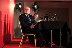 © Licensed to London News Pictures. 10/02/2018. London, UK. Shadow Chancellor John McDonnell at a Labour Party conference on alternative models of ownership following the collapse of construction firm Carillion and the termination of the East Coast rail franchise. Photo credit: Rob Pinney/LNP
