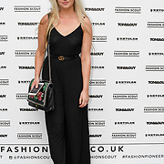 Lucy Cooper attend Fashion Scout - SS19 - London Fashion Week - Day 2, London, UK. 15 September 2018.