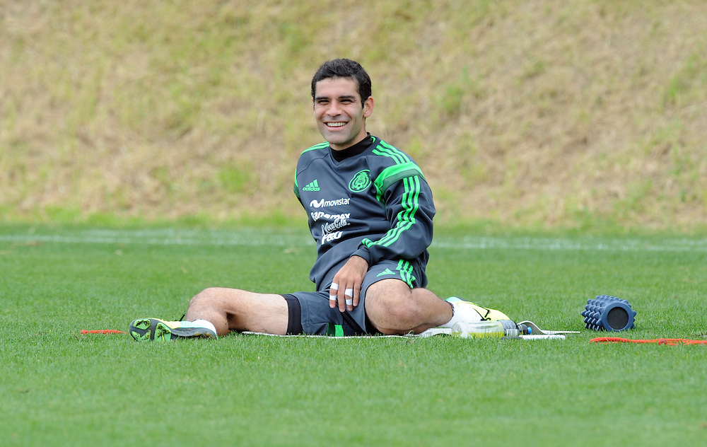 Mexico Football captain Rafa Marquez at the teams first training run at Dave Farrington Park, Miramar after their arrival for the FIFA World Cup qualifier match against New Zealand on Wednesday, Wellington, New Zealand, Sunday, November 17, 2013. Credit:SNPA / Ross Setford