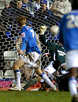 Photo: Leigh Quinnell.<br /> Birmingham City v Newcastle United. The FA Cup. 06/01/2007. Birminghams Sebastian Larsson scores a late goal to earn Birmingham a replay.