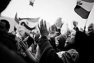 EGYPT, Cairo: Demonstration in Tahir Square. ph. Christian Minelli