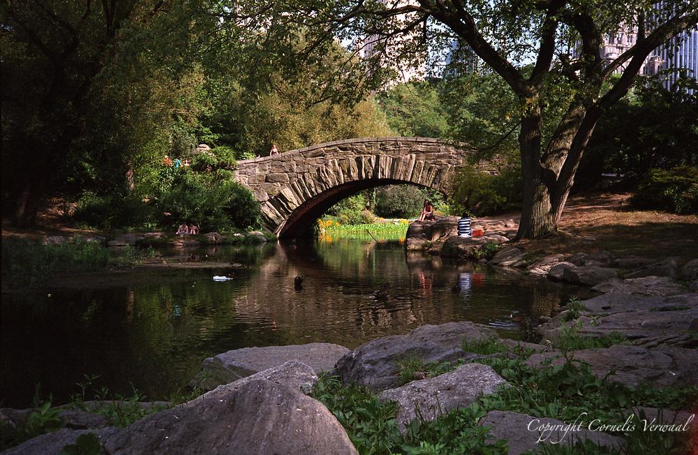 Gapstow Bridge in Central Park