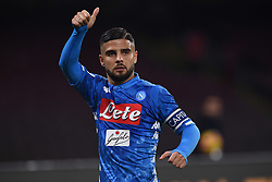 February 17, 2019 - Naples, Naples, Italy - Lorenzo Insigne of SSC Napoli during the Serie A TIM match between SSC Napoli and FC Torino at Stadio San Paolo Naples Italy on 17 February 2019. (Credit Image: © Franco Romano/NurPhoto via ZUMA Press)