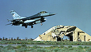 Operation Desert Fox, 1998 - after the first Gulf War (1990-91), continued US and UK air strikes on targets in Iraq and a bulid up of troops in the Kuwaiti desert.