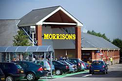 Morrisons supermarket car park, Gamston, Nottinghamshire, England, United Kingdom.