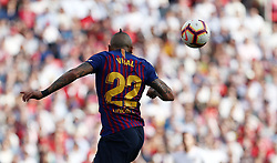 February 23, 2019 - Seville, Madrid, Spain - Arturo Vidal (FC Barcelona) seen in action during the La Liga match between Sevilla FC and Futbol Club Barcelona at Estadio Sanchez Pizjuan in Seville, Spain. (Credit Image: © Manu Reino/SOPA Images via ZUMA Wire)