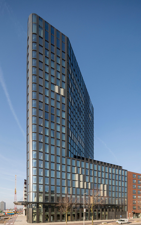 QO hotel, Amsterdam, one of the most sustainable hotels in Europe. QO Amsterdam. By Mulderblauw and Paul de Ruiter Architects. Arup, JP van Eesteren, CroonWolterDros & 4building