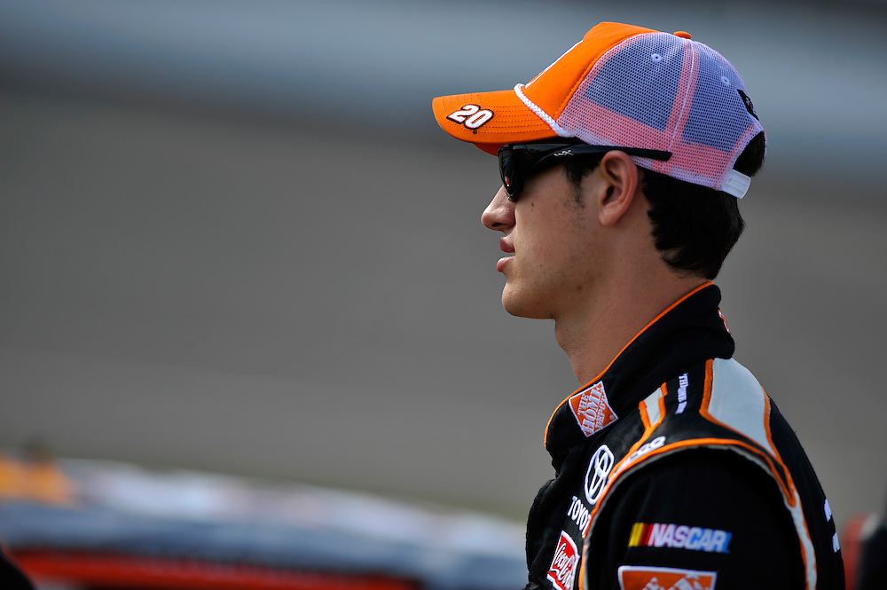 17-19 August, 2012, Brooklyn, Michigan USA.Joey Logano, The Home Depot Toyota Camry. ©2012, Scott R LePage/LAT Photo USA