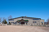 Exterior Image of The Eagles Nest Horse Riding facility at the McDonogh School