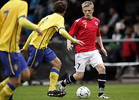 Fotball<br /> Landskamp G15<br /> Sverige v Norge 0:3<br /> Arvika<br /> 23.09.2010<br /> Foto: Morten Olsen, Digitalsport<br /> <br /> Mats Møller Dæhli  -  Stabæk