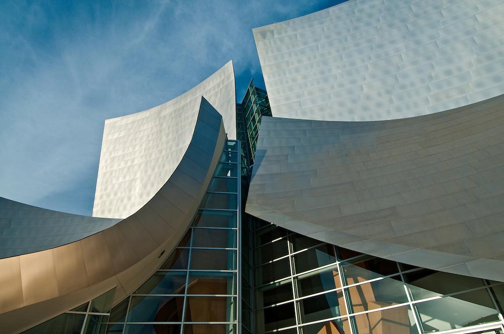 Walt Disney Concert Hall, California, Los Angeles, Downtown,  Designed by Fank O. Gehry Associates, 1987-2003
