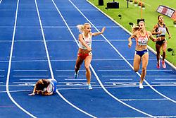 Lisanne de Witte brons op de 400m bij het EK atletiek in Berlijn op 11-8-2018