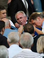 Photo: Steve Bond/Richard Lane Photography. Nottingham County v Nottigham Forest. Pre season Friendly. 25/07/2009. Sven-Goran Eriksson surrounded by fans