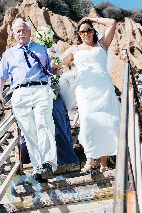 El Matador Malibu Beach Wedding for Shauna Dobbs and Paul Jackson.