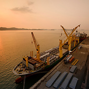 AAL Brisbane, Mokpo New Port, Mokpo, South Korea, April 30, 2015.