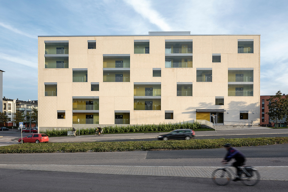 Agronominkatu 1 housing in Helsinki, finland designed by AOA architects.